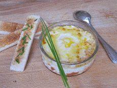 Recette facile d'œufs cocotte à la tomate et au comté