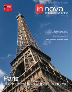 """No.4  París, la ciudad del Sena  París es una urbe con mucha personalidad. Combina lo nuevo con lo antiguo, distintas culturas, artes y negocios. El """"savoire faire"""" francés se puede sentir en todos los rincones de un destino que nunca deja de sorprender.  Con un recorrido de compras en las tiendas más exclusivas, es una ciudad para andar con elegancia y glamur.  http://issuu.com/innova_magazine/docs/innova__4_espa_ol/1?e=4240751/1413834"""