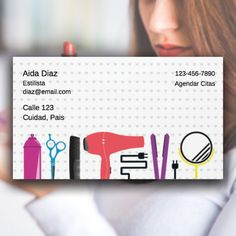 tarjetas de visita, tarjetas de presentacion, business card, estetica, estilista, cortes de cabello, barbero, barber, belleza