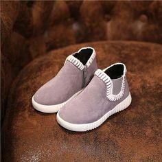 Fleece Casual Boots   Furrple