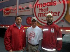 Tyson Foods unveils Meals That Matter mobile disaster relief unit this morning on Fox & Friends.