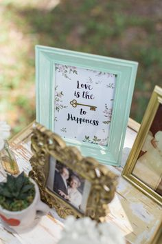 love is the key to happiness wedding saying