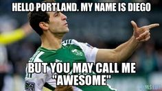 Diego Valeri - Timbers The soccer representative in my pocket