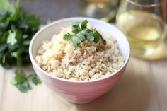 How To Make The Perfect Brown Rice - for Dr. Oz's 2 Week Rapid Weight Loss Diet (sub low sodium or homemade veggie broth for chicken broth)