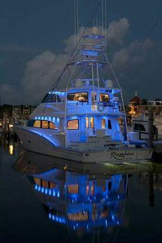 Night fishing,  Islamorada Florida - Seatech Marine Products & Daily Watermakers @Seatech Corporation Marine Products
