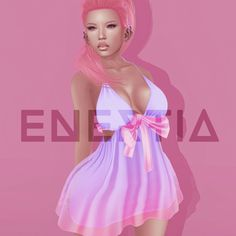 I Trixie Second Life Group Gift. One of the gifts is the fitmesh dress from Enertia, with the dream texture. You will find more than one gift.
