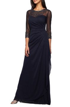 b990fe9f7319 32 Best Alex Evenings images | Alex evenings, Embroidered lace, A ...