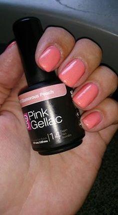 shared Nikkie Van Geffen-Brouwer's photo. Blij met mijn nieuwe kleur! 159 glamorous peach