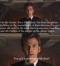 The 10th Doctor <3