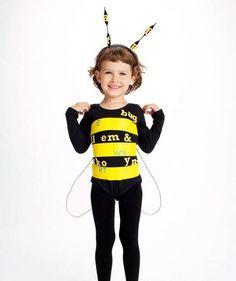 DIY Spelling Bee #costume #halloween
