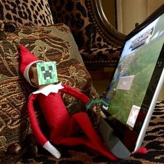 Minecraft | 43 Awesome Elf On The Shelf Ideas To Steal This Christmas