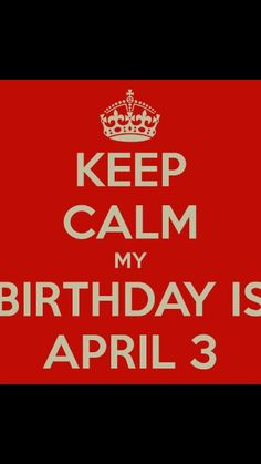 Cant wait for my birthday