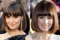 Cortes de pelo corto con flequillo para las mujeres
