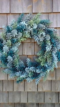 Spring Pinecone Wreath Made In Maine by scarletsmile on Etsy