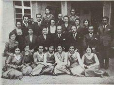 Ankara lisesine Atatürk ziyareti.