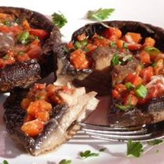 Grilled Portobello Mushrooms Allrecipes.com, photo by Lucky Noodles