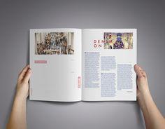 Redesign OZON raw Fashion magazine on Behance