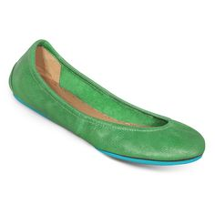 Clover Green Tieks (Flats Designed to Fold & Fit in a Purse!)