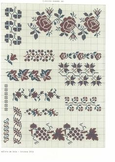 Thrilling Designing Your Own Cross Stitch Embroidery Patterns Ideas. Exhilarating Designing Your Own Cross Stitch Embroidery Patterns Ideas. Mini Cross Stitch, Cross Stitch Borders, Cross Stitch Rose, Cross Stitch Samplers, Cross Stitch Flowers, Cross Stitch Designs, Cross Stitching, Cross Stitch Patterns, Folk Embroidery