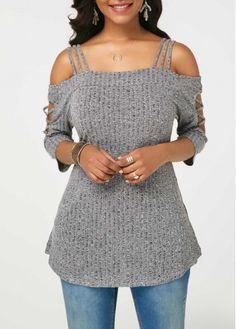 Stylish Tops For Girls, Trendy Tops, Trendy Fashion Tops, Trendy Tops For Women Stylish Tops For Girls, Trendy Tops For Women, Pullover Mode, Cardigan Sweaters For Women, Ladies Sweaters, Women's Sweaters, Ribbed Sweater, Sweater Fashion, Tricot