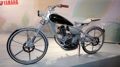 The Yamaha Y125 concept. Weighing a mere 80kg and covering 80km per litre of fuel. My bicycle uses more fuel than that.