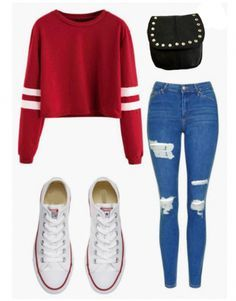 Outfits, cute outfits for school for teens, casual outfits for teens, t Cute Middle School Outfits, Casual School Outfits, Cute Swag Outfits, Cute Comfy Outfits, Stylish Outfits, Cute Outfits For Teens, Work Outfits, Polyvore Outfits Casual, Cute Outfits For School For Teens