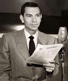 Jack Webb, Dragnet's creator and lead actor ~ Dragnet is perhaps the most famous and influential police procedural drama in media history. The original Dragnet starring Jack Webb as Sgt. Friday ran on radio from 1949 to 1957 Radios, 60s Tv, Old Time Radio, Old Shows, Vintage Tv, Vintage Stuff, Hollywood, Great Tv Shows, Tv Actors