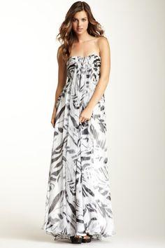 Halston Heritage Silk Gown