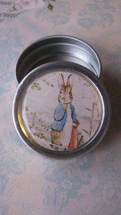 Peter Rabbit Metal Tin from Beatrix Potter