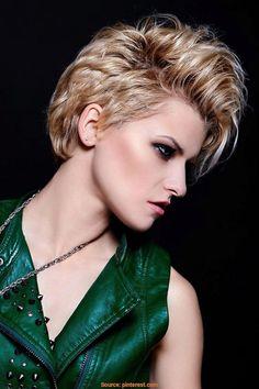 36 Best Flotte Kurzhaarfrisuren Images On Pinterest Hairstyle
