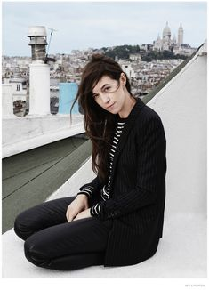 charlotte gainsbourg photoshoot 2014 02 Charlotte Gainsbourg Poses for The Edit, Talks Nicolas Ghesquière