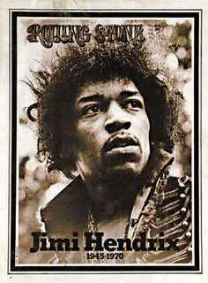 Jimi Hendrix, The Original Rolling Stone cover!