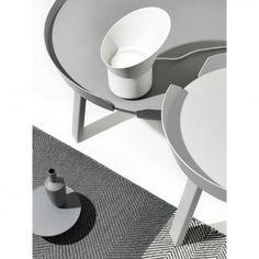 Muuto Around Salontafel Unique Coffee Table, Large Coffee Tables, Coffee Table Design, Scandinavia Design, Muuto, Design Bestseller, Minimal Decor, Geometric Rug, Nordic Design