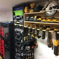 Are you looking to make your garage space a little less cluttered? If so, read on to learn about the top DIY garage storage ideas Garage Organization Tips, Garage Storage Solutions, Diy Garage Storage, Shed Storage, Storage Ideas, Garage Tools, Garage Shop, Yard Tools, Woodworking Garage