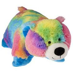 I want a cute, colorful, and cuddly pillow pet.❤