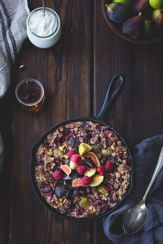 The Bojon Gourmet: Baked Rolled Barley with Figs, Berries, and Cardamom