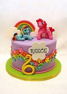 My little pony cake My Little Pony Cake, My Little Pony Birthday Party, Birthday Cake Girls, Pony Party, Birthday Cakes, 5th Birthday, Unicorn Birthday, Birthday Ideas, Cupcakes