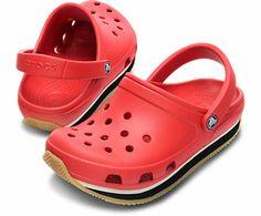 Kids' Crocs Retro Clog, size 8/9, J1, J3 - 550k