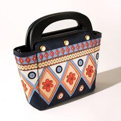 Tory Burch Appliqué Bermuda Bag