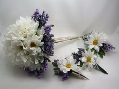 Daisies and Lavender