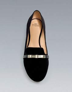 BOW SLIPPER - Flat shoes - Shoes - TRF - ZARA