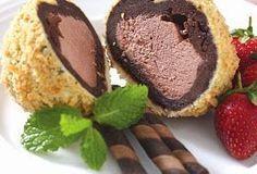 Cara Membuat Es Krim Goreng Coklat Silahkan Anda Coba Di Rumah Semoga Berhasil Cara Membuat Es Krim Goreng Coklat Es Krim Goreng Makanan Pembuat Es Krim
