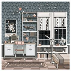 Rooms on Behance