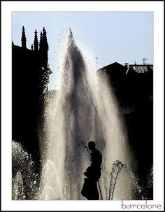Place de la catalunya, Barcelona, Spain