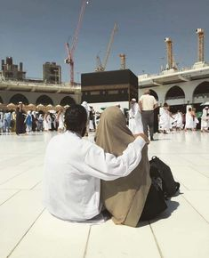 Muslim Pictures, Sad Pictures, Couple Pictures, Mecca Islam, Mecca Kaaba, Islamic Images, Islamic Pictures, Cute Muslim Couples, Cute Couples