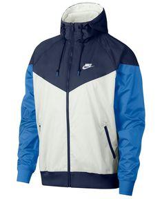 Nike Men's Sportswear 2019 Hooded Windrunner Jacket (Regular and Big & Tall) Nike Sportswear, Windrunner Jacket, Nike Windrunner, Nike Windbreaker, Jackets Online, Baby Clothes Shops, Trendy Plus Size, Jogging, Nike Jacket