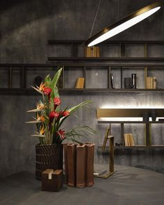 Pressed Vases during Salone del Mobile Milan at Henge showroom #henge #salone2016 #salonedelmobile2016 #ceramic #pottery #studiofloriswubben #vase @henge07 #interiordesign #interior