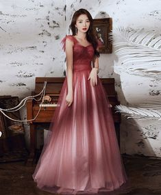 Tulle Prom Dress, I Dress, Prom Dresses, Formal Dresses, Elegant Dresses, Pretty Dresses, Cute Fashion, Fashion Outfits, Designer Dresses