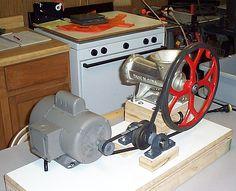 Meat Grinder motor attach