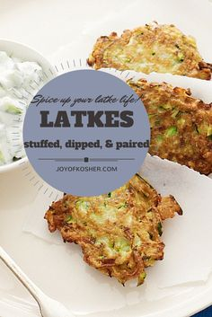 Latkes: Stuffed, Top
